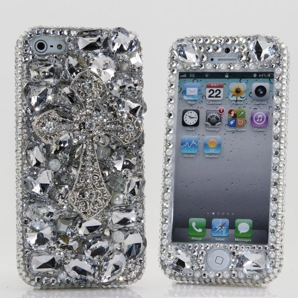 This Swarovski Crystal iPhone Case is Covered in Jewels #iphone trendhunter.com