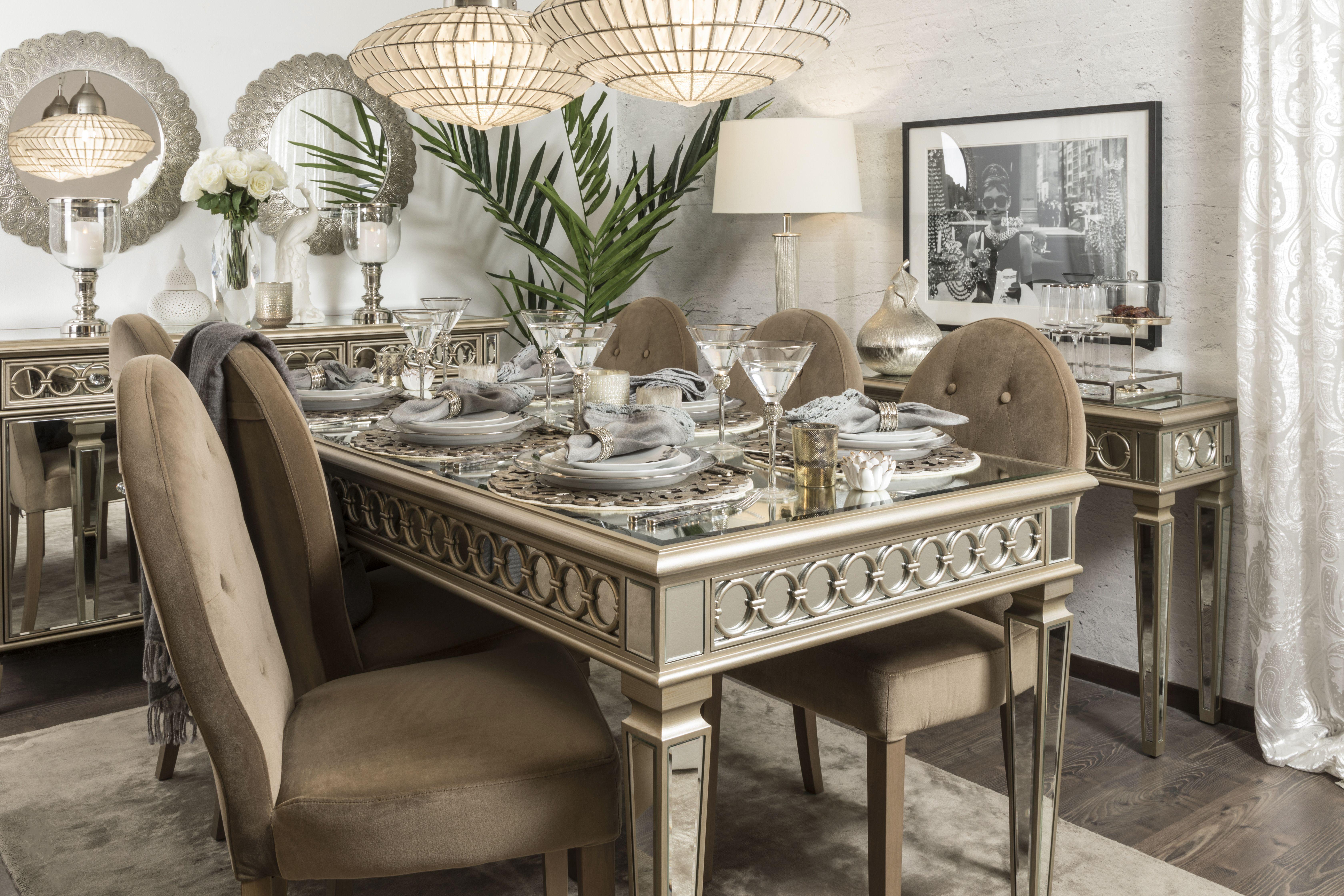 34+ Elegant new dining table set Various Types