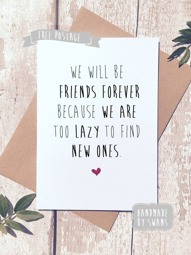 Pin by christy swanborough on greeting cards pinterest funny funny birthday greetings card card for friend friends forever m4hsunfo