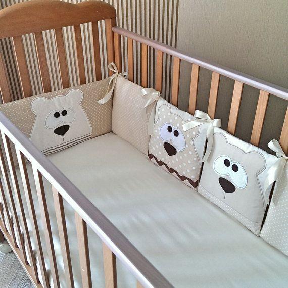 Бортики в детскую кроватку от drrreamland на Etsy   Šití   Pinterest ...