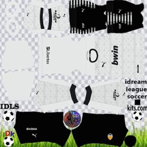 Valencia Dls Kits Logo 2021 Dream League Soccer 2021 Kits Soccer Kits Valencia Football League