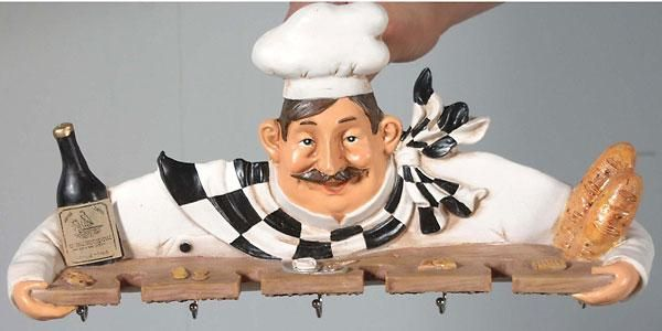 Kitchen Chef Decorations