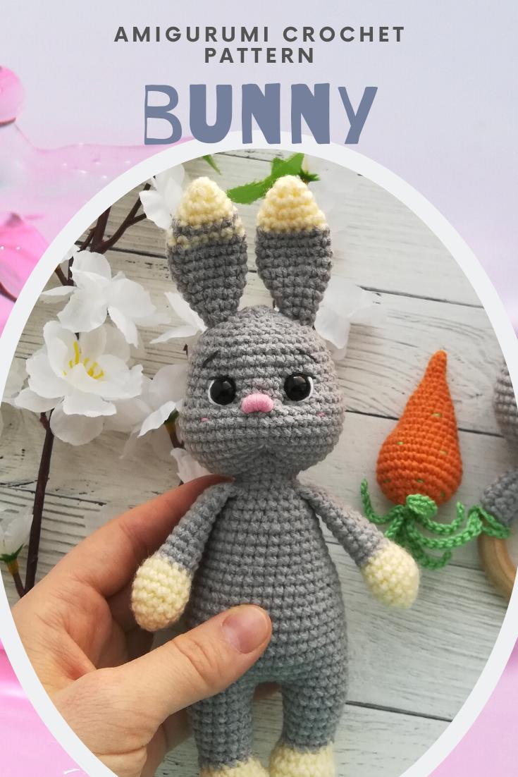 Amigurumi Bunny Crochet pattern amigurumi rabbit pattern   Etsy ...