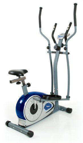 This Patented 2 In One Cardio Dual Trainer Is Used As An Elliptical Trainer Or An Exercise Bik Recumbent Bike Workout Biking Workout Workout Machines