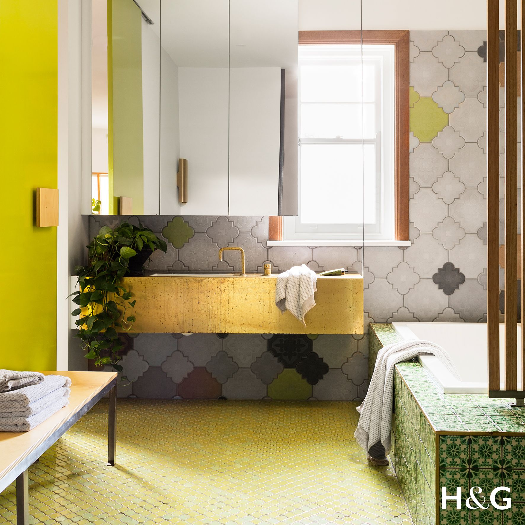 Bathroom Inspiration From Australian House Garden Magazine July 2017
