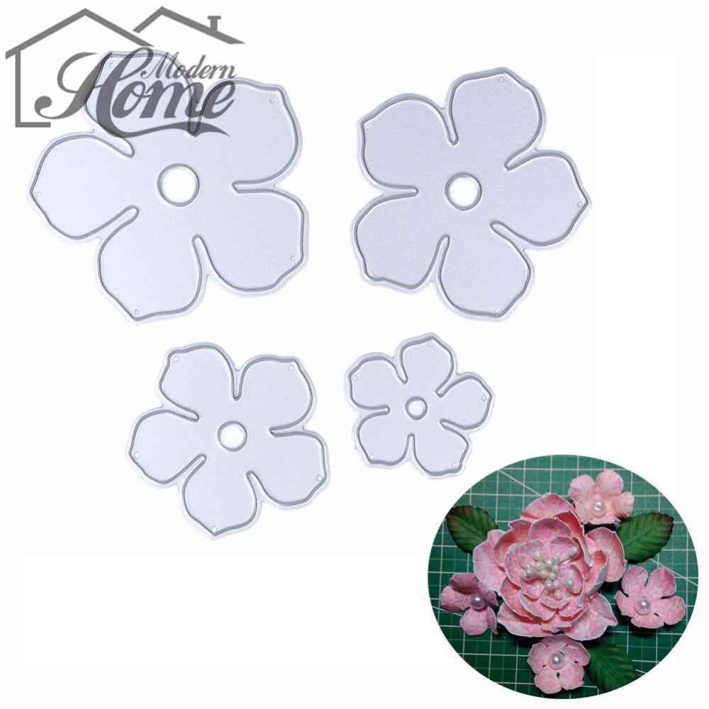 3D Flower Cutting Dies Metal Stencil DIY Scrapbooking Album Paper Card Craft Art