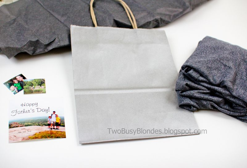 TWO BLONDES Enthusiastically Creating and Crafting EVERYTHING!: Happy Father's Day! - Gift basket & picture ideas