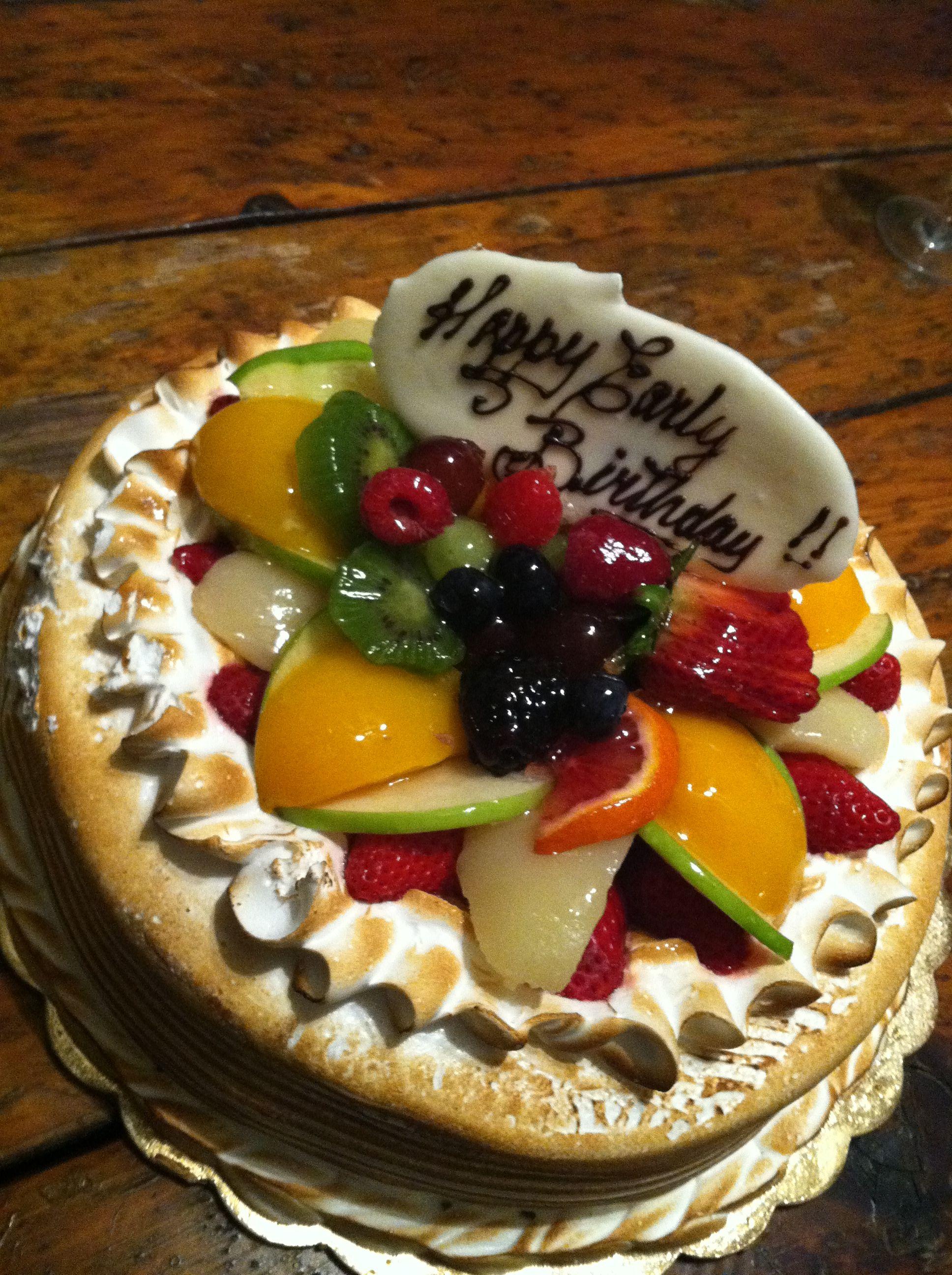 Birthday cake from parissa