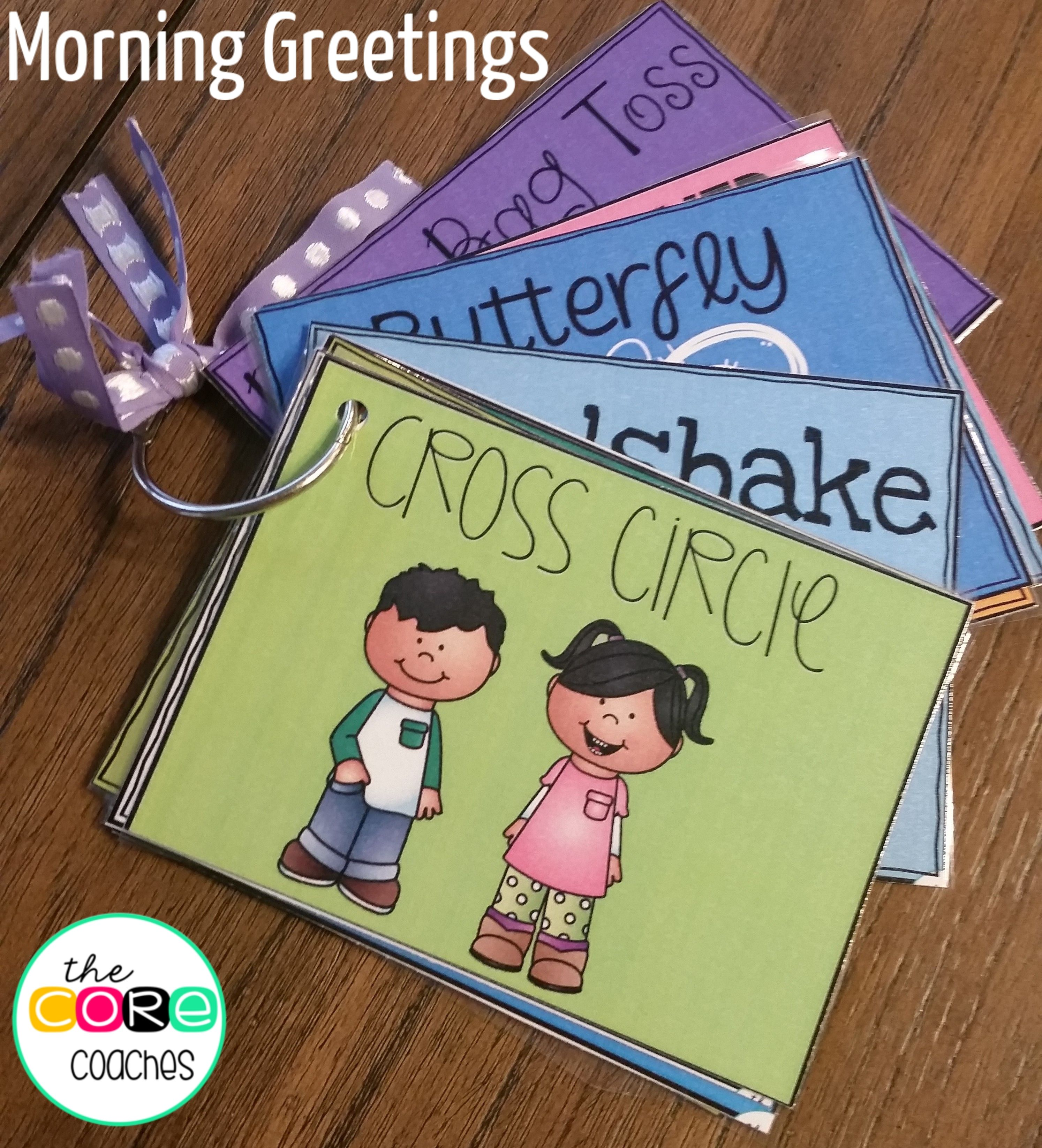 Morning Greeting Choice Cards Students Morning Meetings And