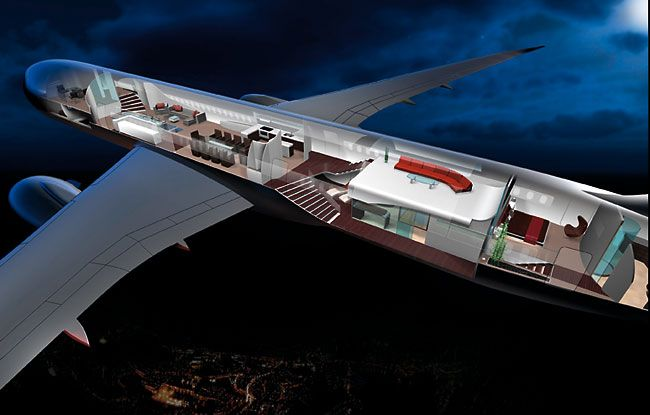This unique interior design conceived for approximately passengers the boeing dreamliner is transformed into  superlative mobile working and also rh in pinterest