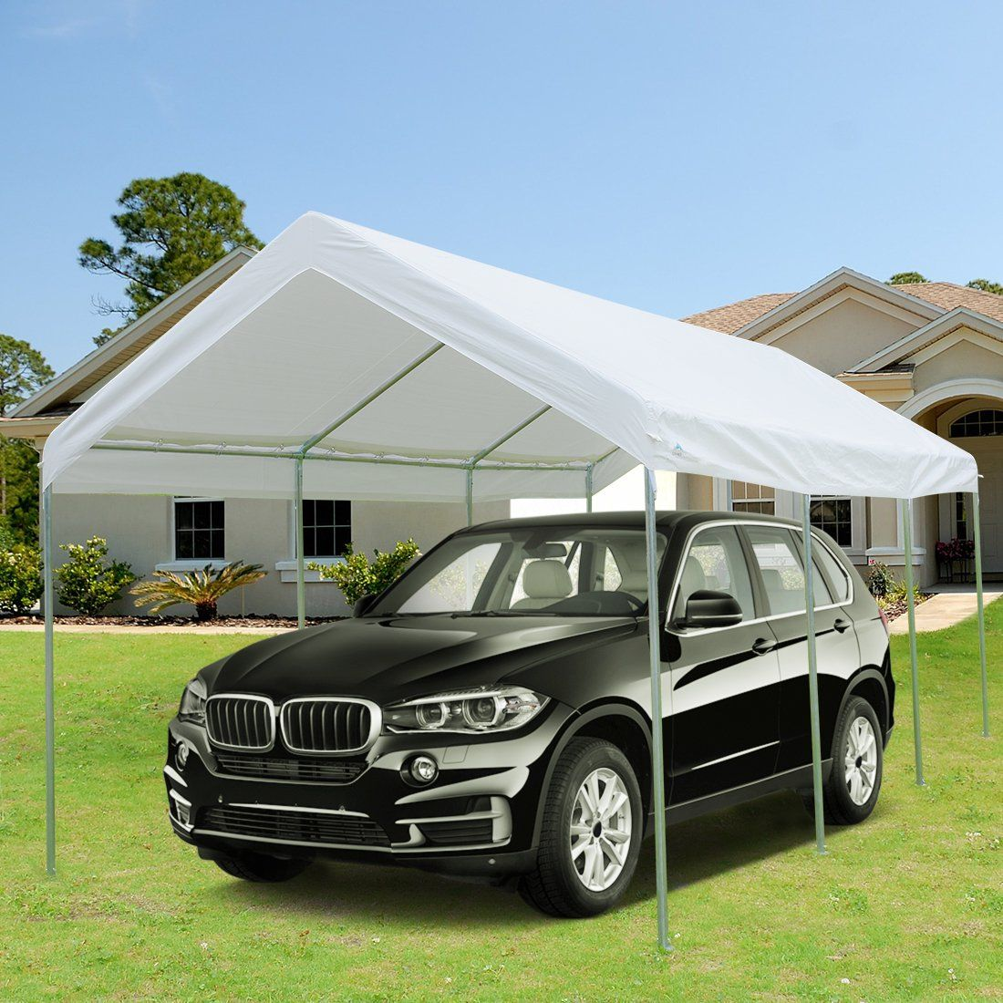 10' x 20' Heavy Duty Carport Car Canopy Garage Shelter