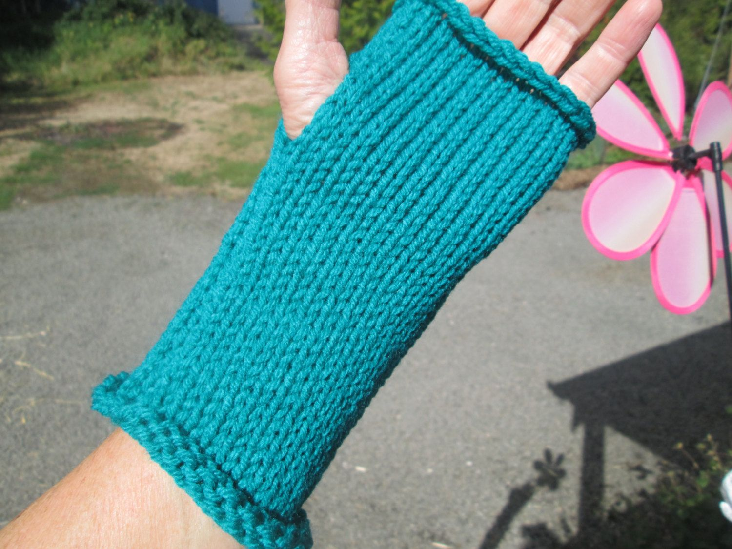 Driving texting gloves - Turquoise Fingerless Gloves By Suzannesstitches Wrist Warmer Driving Gloves Knitted Fingerless Gloves Arm Warmers Texting Gloves Glove