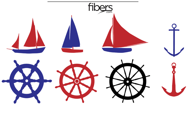 free nautical vector pack clip art free clip art and scrapbooking rh pinterest com free clipart nautical flags free nautical clipart border