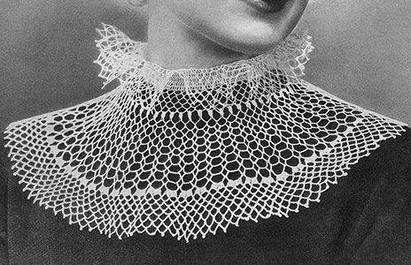 Juliet Collar Pattern 2218 Im Going To Use This As A Guide To