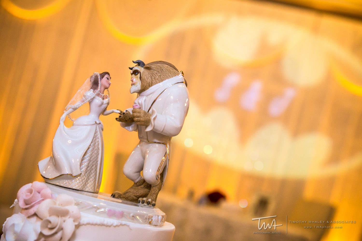Beauty and the Beast cake topper! | TWA Photographic Artists Chicago ...