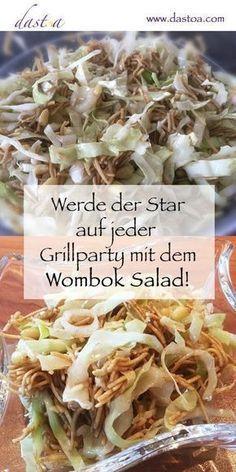 Dieser Salat darf auf keiner Grillparty fehlen! #peanutrecipes