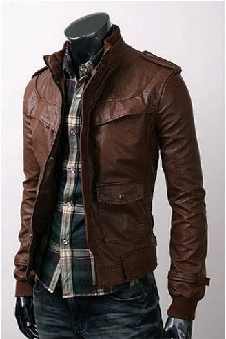 18ff23055e4 Mens Slim Fit Hand Made Korean Style Real Leather by TrendsPk ...