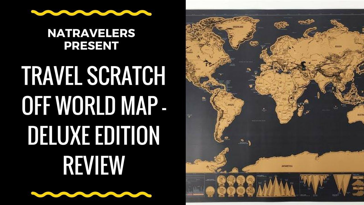 Natravelers are reviewing this travel scratch off world map natravelers are reviewing this travel scratch off world map deluxe edition a great home decor gift surprise them with this beautiful gumiabroncs Image collections