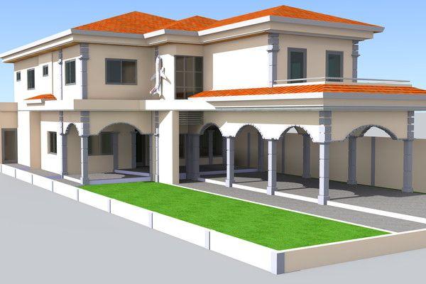 Villa Mk A Lome Togo Maison Moderne Maison Villa