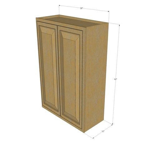 Large Double Door Regal Oak Wall Cabinet 30 Inch Wide X 42 Inch High Kitchen Cabinet Remodel Online Kitchen Cabinets New Kitchen Cabinets