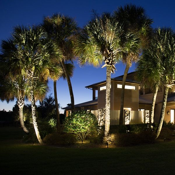 A Beautiful Lighting Design Done Using Our Top Dog Spot Lights Landscape Lighting Landscape Lighting Design Landscape