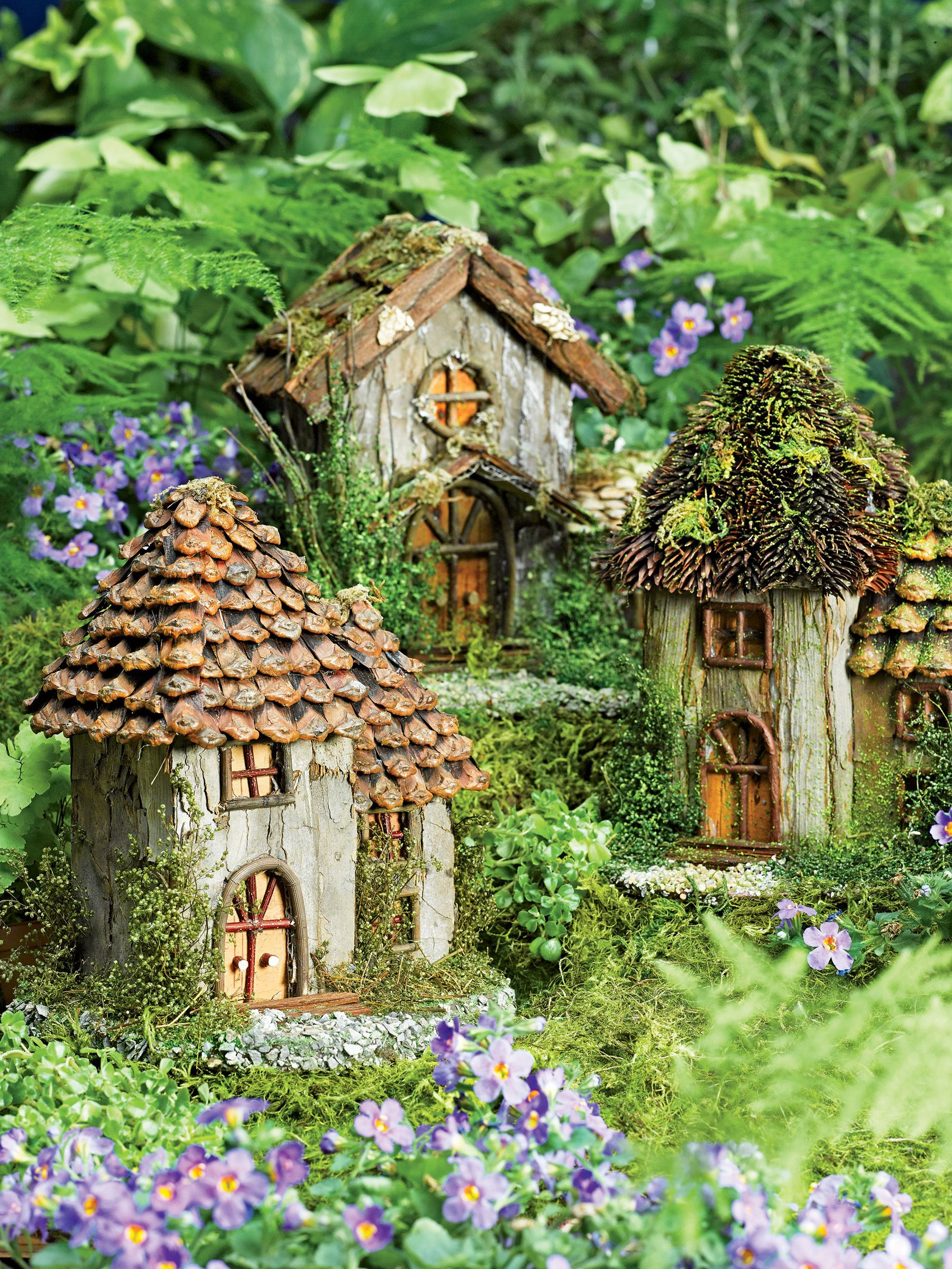 Elfentuintje | Garten | Pinterest | Fairy houses, Fairy and Gardens