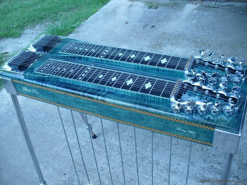 Show Pro D 10 9x8 Sold Donation Sent The Steel Guitar Forum In 2020 Pedal Steel Guitar Steel Guitar Steel Bar