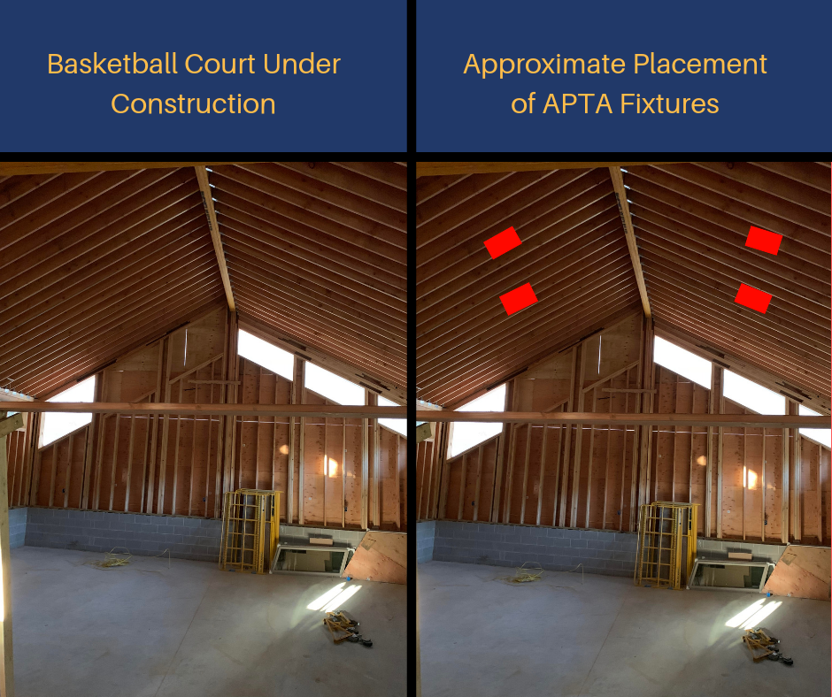 Https Www Accessfixtures Com Residential Basketball Court Lighting Pennsylvania See How Access Indoor Basketball Court Indoor Basketball Lighting Solutions