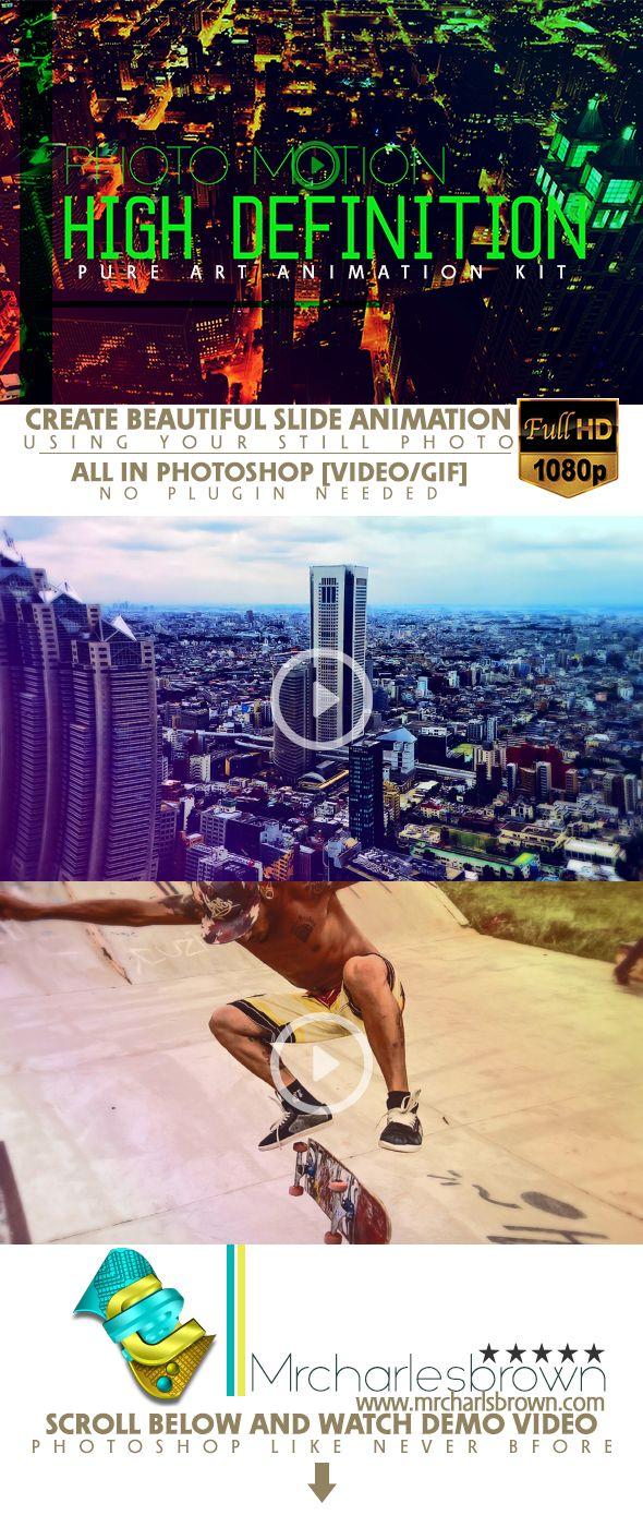 Pure Art Animation Kit  Photo Motion  — Photoshop Action #slider #photoshop animation • Download ➝ https://graphicriver.net/item/pure-art-animation-kit-photo-motion/18191196?ref=pxcr