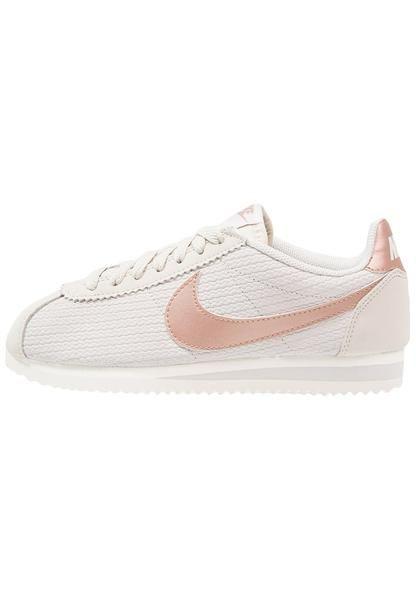 brand new 1f1af 2d245 womens-beige-nike-sportswear-classic-cortez-lux-trainers-