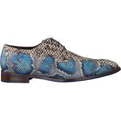 Floris Van Bommel Business Schuhe 18224 Blau Herren Floris van Bommel
