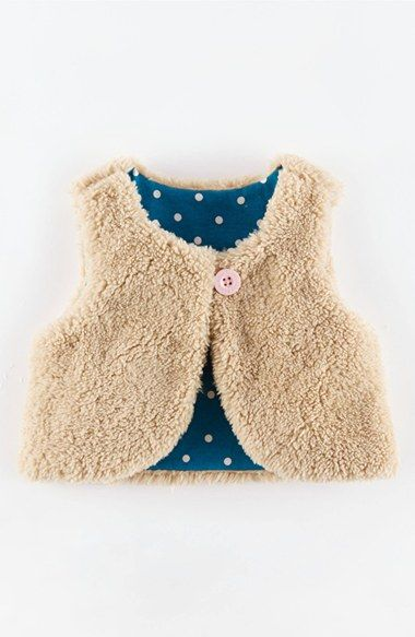 9908a958a Mini Boden Reversible Gilet (Baby Girls) available at #Nordstrom ...