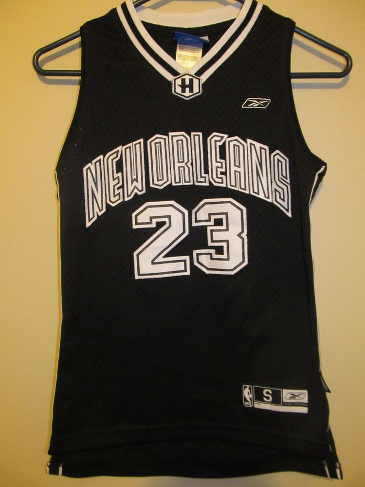 236cfb89 Details about Reebok NEW ORLEANS HORNETS J MASHBURN #24 Youth ...