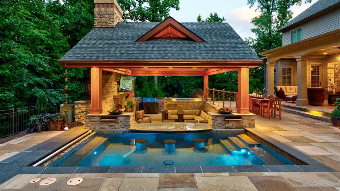 Top 6 Texas Pools Pool House Designs Backyard Pavilion Outdoor Living Patios