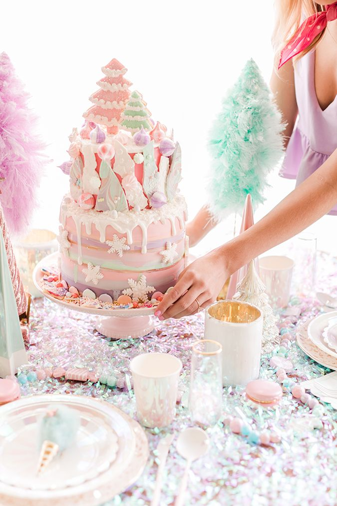 Photo of Partyplanung: Ein Pink Candyland Christmas Get Together