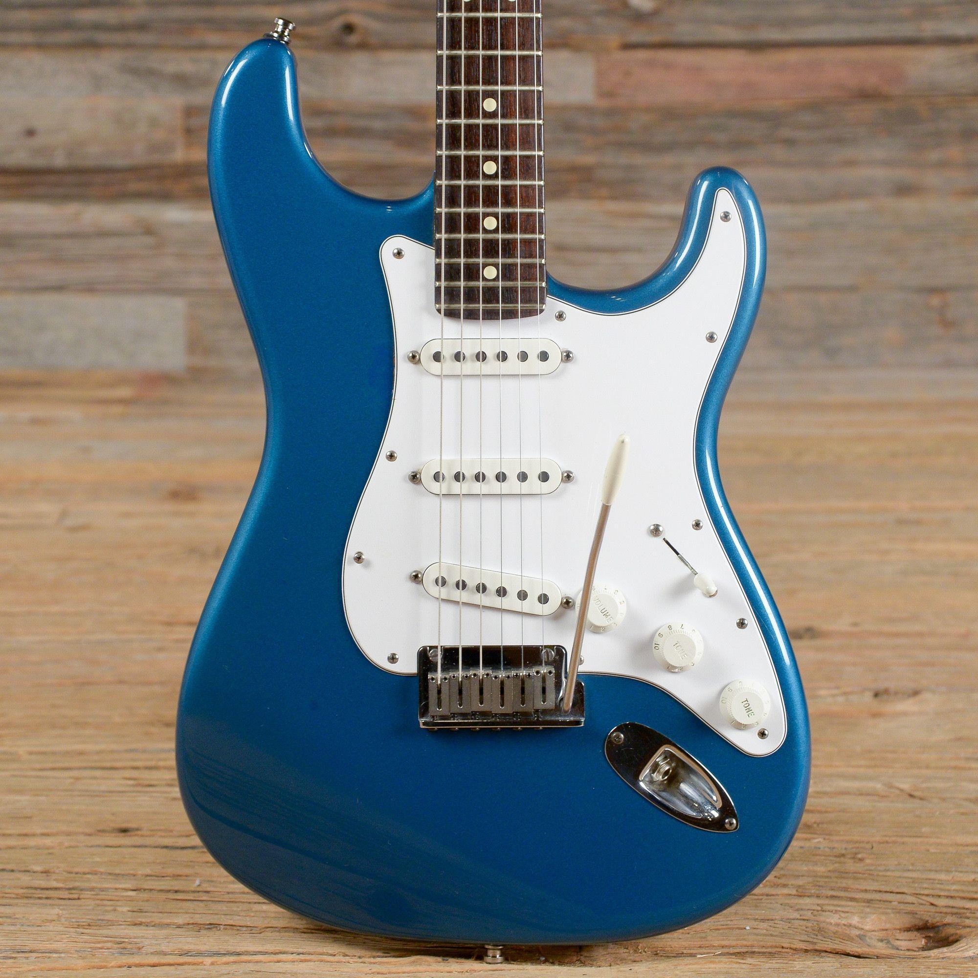 Fender American Standard Stratocaster Aqua Marine Metallic 2001 ...