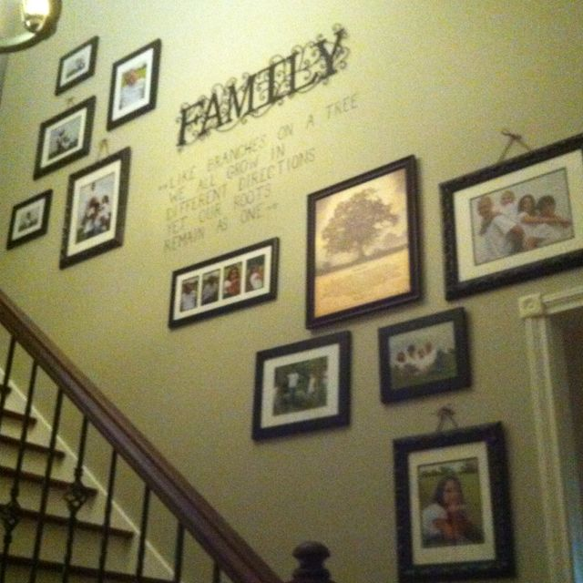 Pin by Angie Baker Bowling on Home | Pinterest | Family wall ...