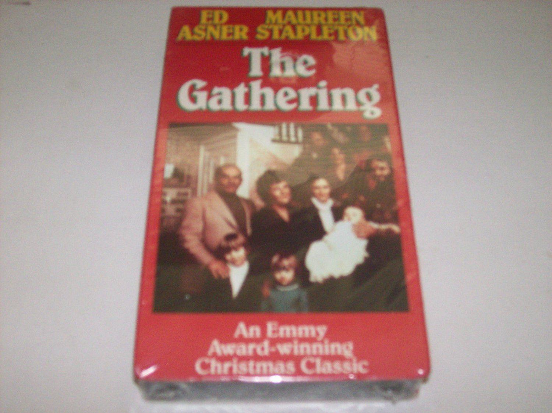 THE GATHERING w/ ED ASNER Christmas Movie Drama VHS