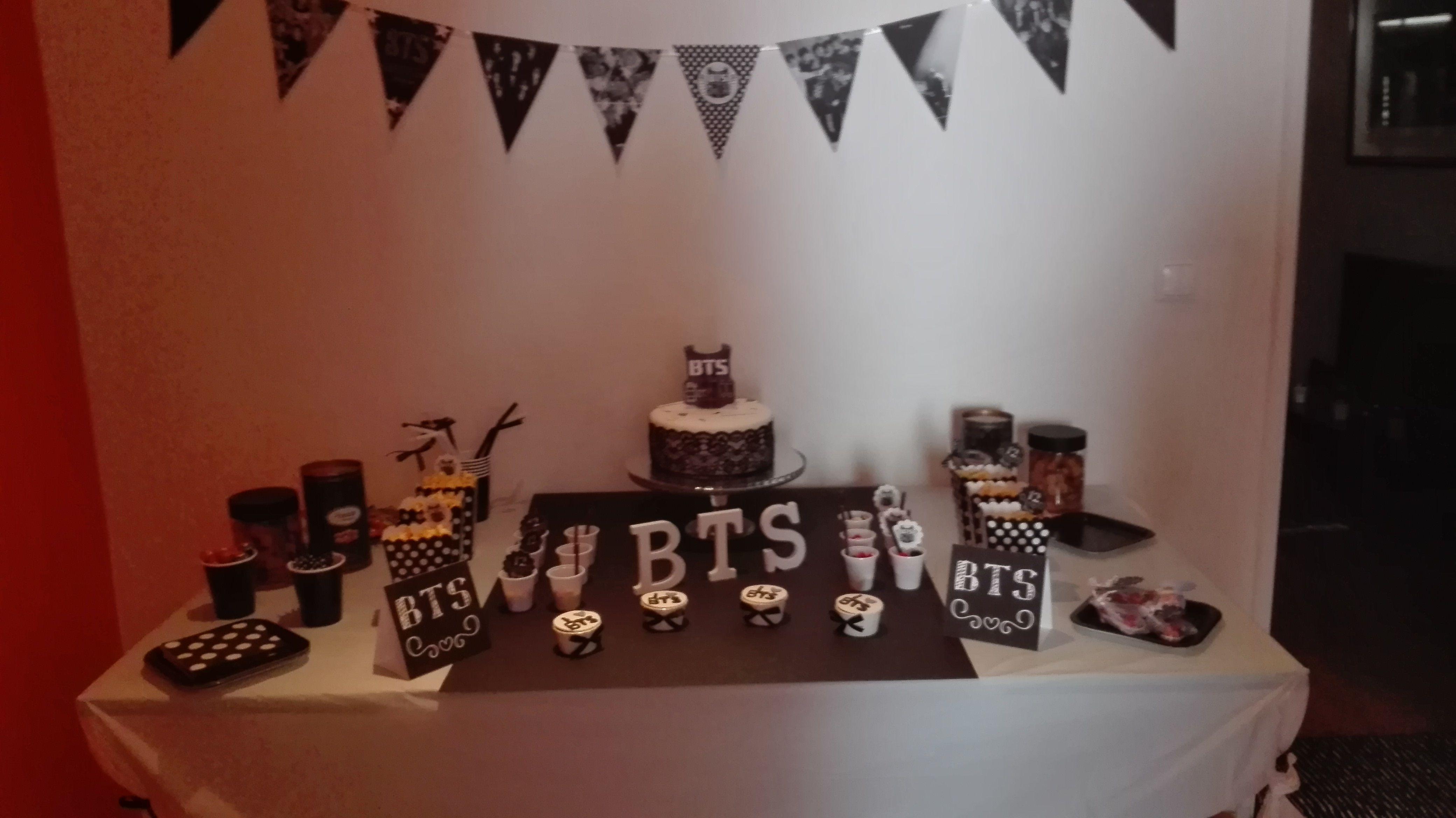 Festa Bts Bts Party Decoration Ideas En 2019 Bts Birthdays Bts