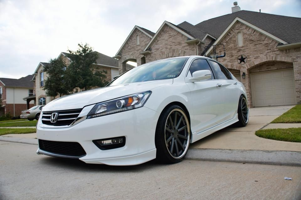 2014 Honda Accord On Custom Painted Vossen Cv1 S