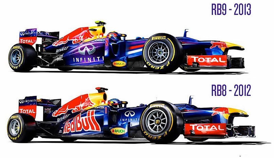F1 Red Bull Rb8 2012 Y Rb9 2013 Carreras Autos Automoviles