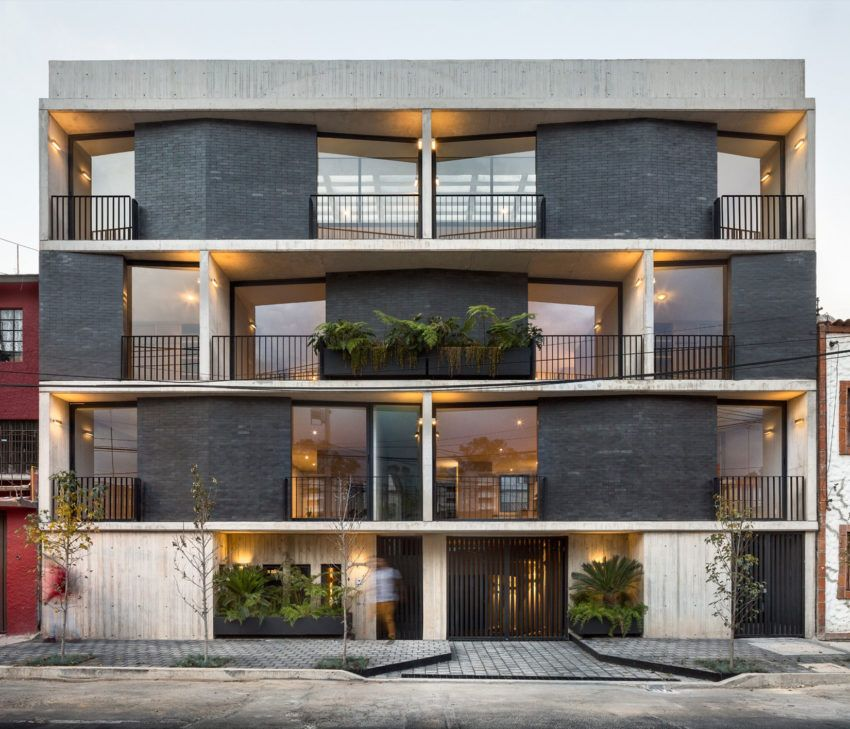 a multi family home in vista hermosa mexico pinterest rh pinterest com Multi-Family House Plans Multi-Housing Conference