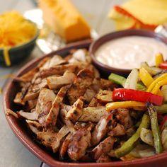 Grilled Chicken Fajitas (aka Chicken Tacos Al Carbon)