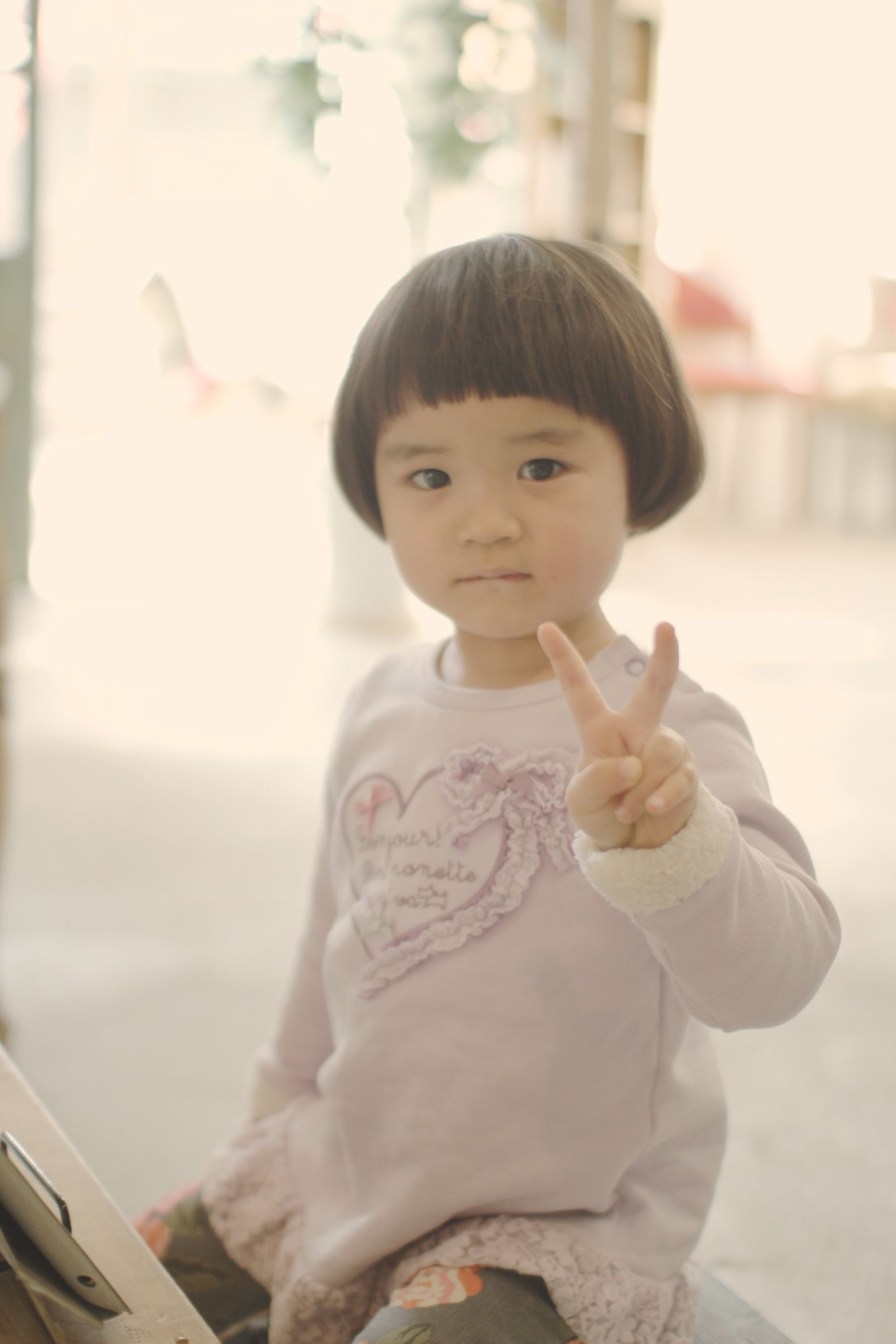 ショートマッシュ 女の子イメージ2 子供髪型 女の子 赤ちゃんの髪