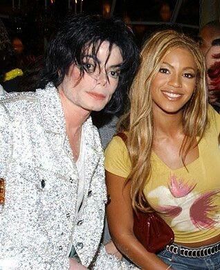 Resultado de imagem para Beyoncé e michael jackson