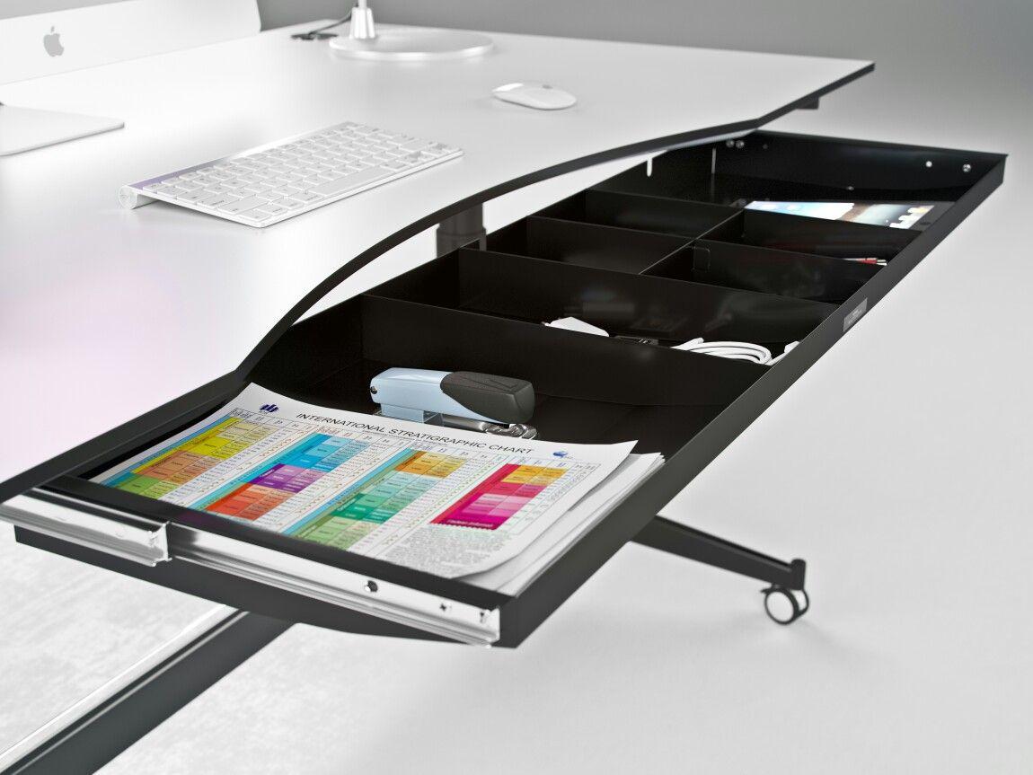 Multiskuffen er fantastisk til virksomheder med clean desk for Schreibtisch 0488