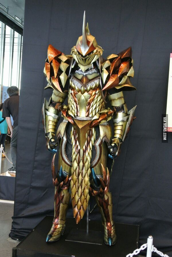 My Favorite Armor So Far In Mh4u Armor Pinterest Monster