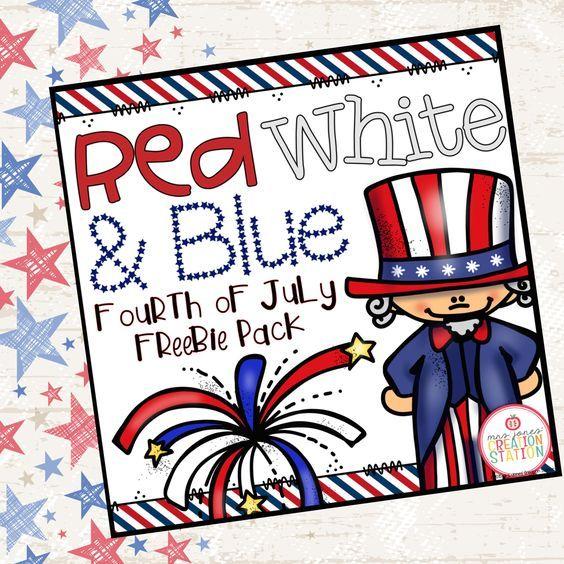 America: A Fourth of July Freebie Pack | Patriotic ...