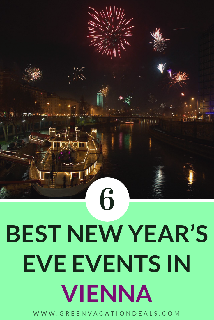 Top 6 New Year's Eve Vienna Austria Events