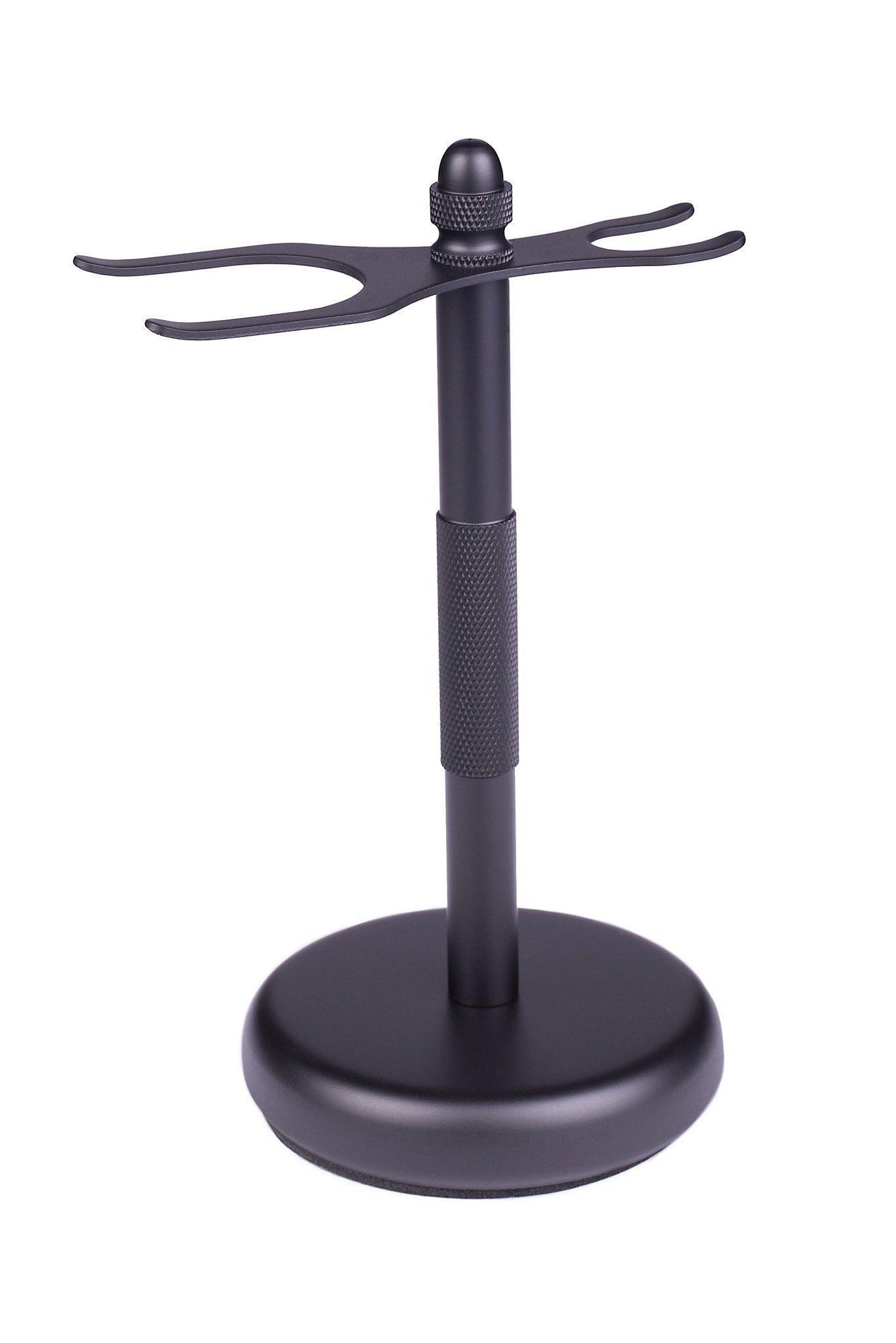 Shaving Stand, Black, For Standard Shaving Brush